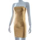 Сексуальное золотое платье