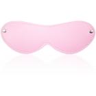 Розовая маска с плюшем