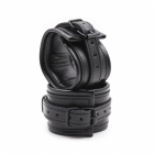 Дизайнерские черные БДСМ наручники