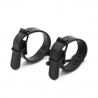 Стильные черные БДСМ наручники
