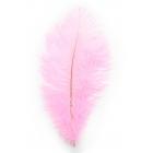 Тиклер перышко розовое, 28 см