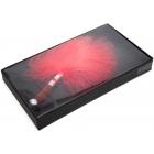 Дизайнерский красный тиклер, 15 см