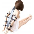 Эксклюзивный бондаж для шеи и рук с 8 фиксаторами