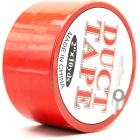 Лента для связывания «Duct Tape» красная, 15 м
