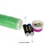 Зеленый вибратор-реалистик 23 см, Ø 4,3 см
