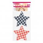 Набор дерзких пэстисов для груди в виде звезд Stars Nipple Pasties