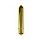 Мини-вибратор золотой, 9 см, Ø 1,8 см