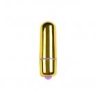 Мини-вибратор золотой, 5,9 см, Ø 1,7 см