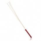 Стек из ротанга с красной рукоятью 60 см