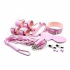 Шикарный розовый набор из 8 игрушек