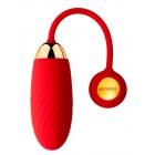 Виброяйцо Svakom «Ella Neo» с управлением через смартфон, красное, 8,5 см, Ø 3,4 см
